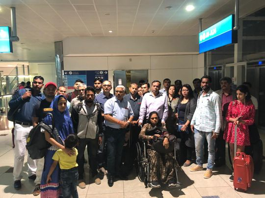 Air India passengers stranded