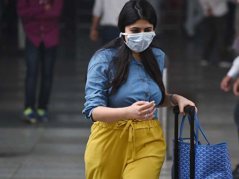 Delhi face mask