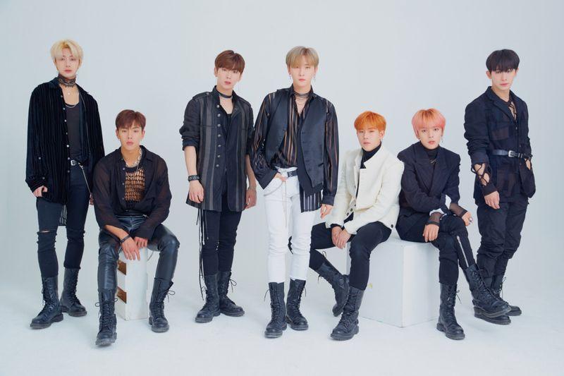 Hyungwon, Shownu, Kihyun, I.M, Joohoney, Minhyuk, Wonho-1572594828759