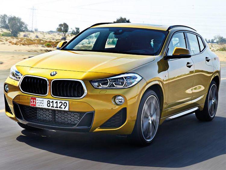 auto BMWX2