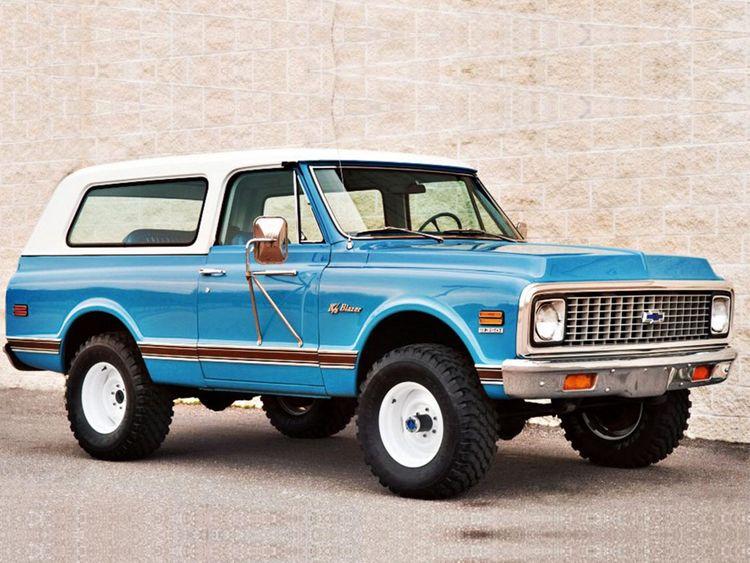 auto ChevroletK5