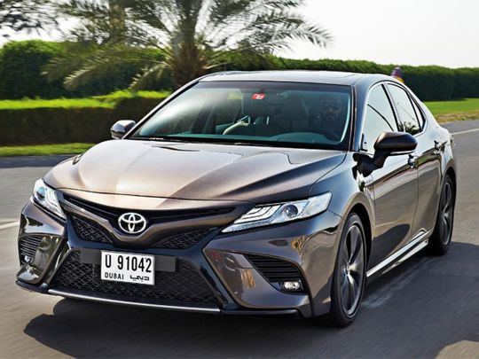 Review Toyota Camry Grande Test Drives Gulf News