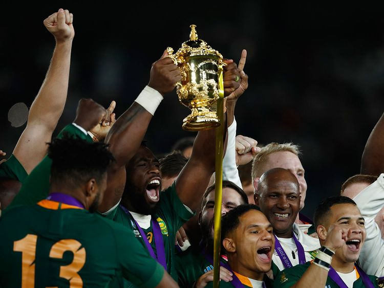 In Pictures South Africa Win Rugby World Cup Sports Photos Gulf News