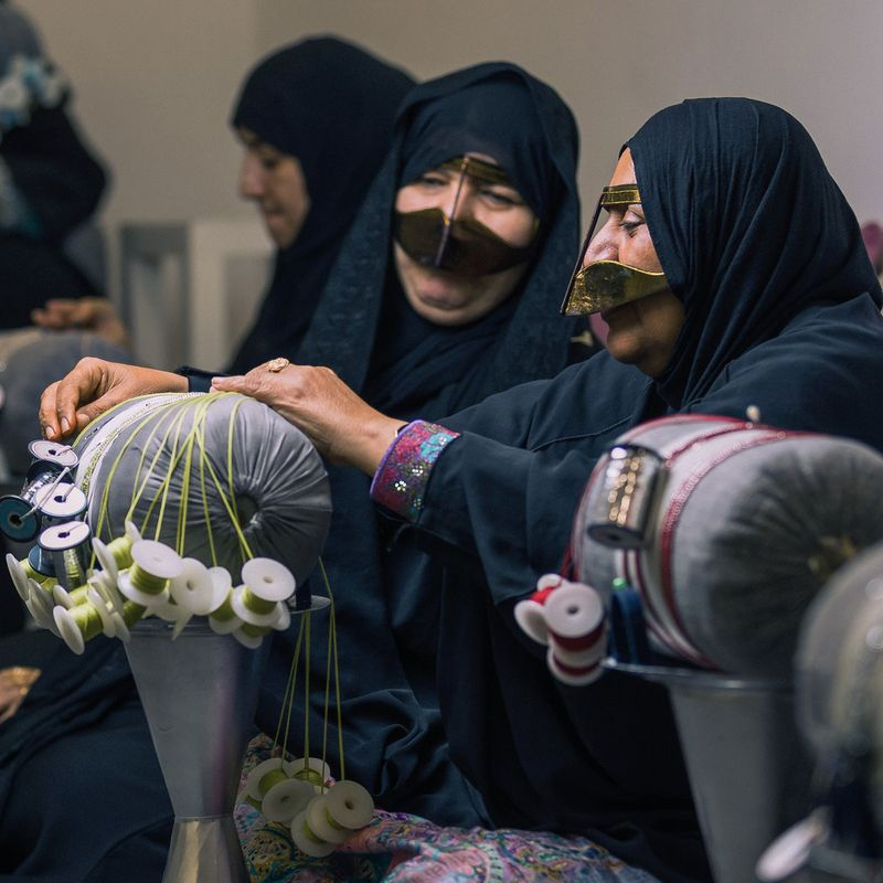 Irthi's specialized Talli artisans showcase the craft.