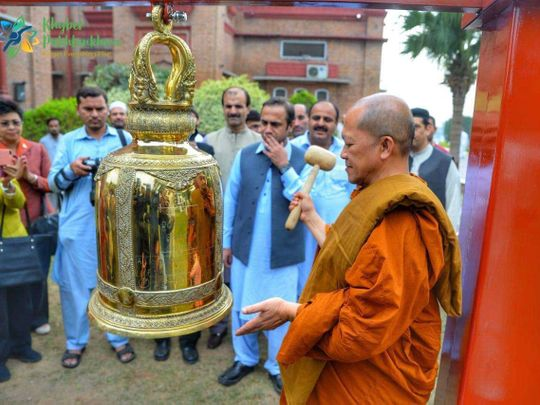Buddhist Monks hope Pakistan can become hub of religious ...