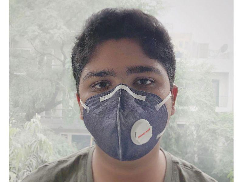 (Delhi pollution social media gallery)