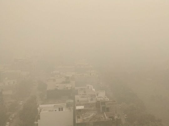 (Delhi pollution social media gallery)