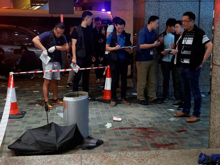 Hong Kong knife attack