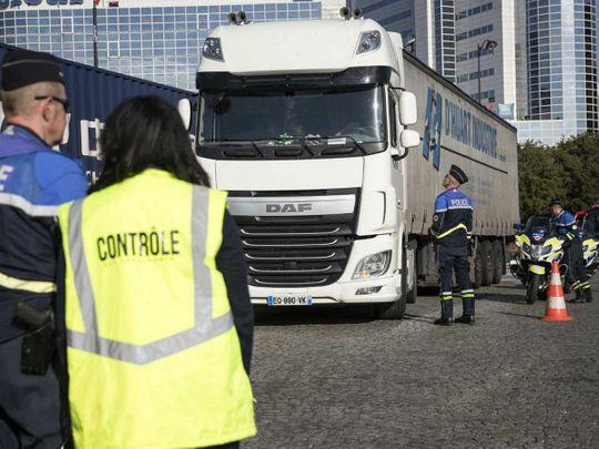 Illegal lorry