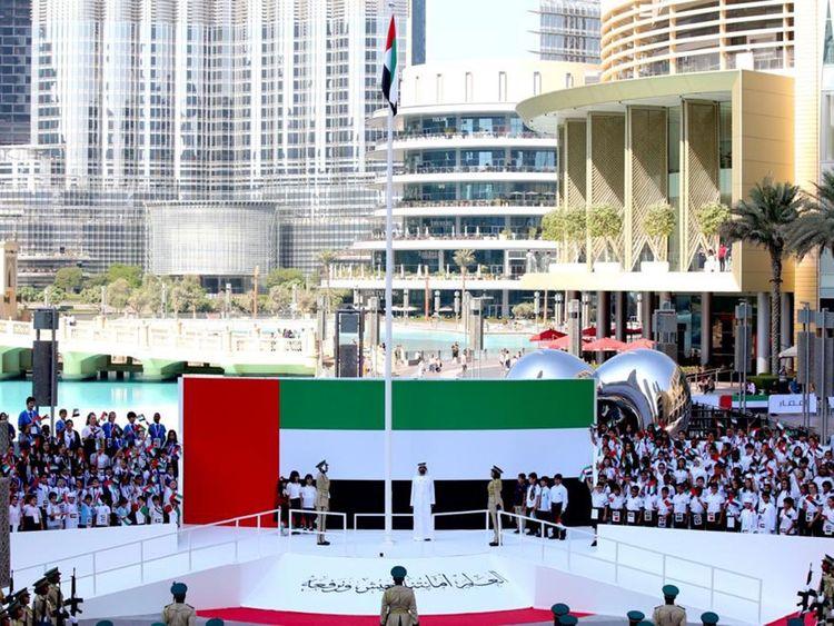 Sheikh mohammed flag day
