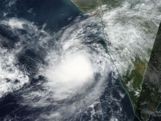 Tropical cyclone Maha