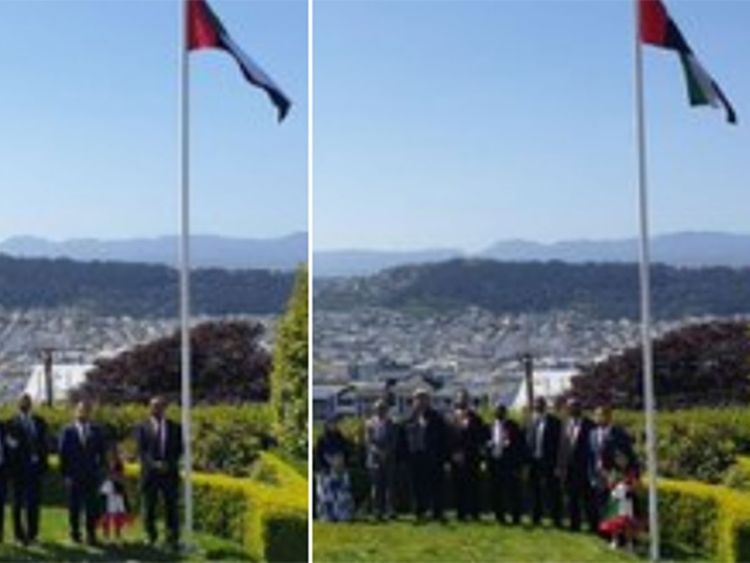 UAE flag day in New Zealand
