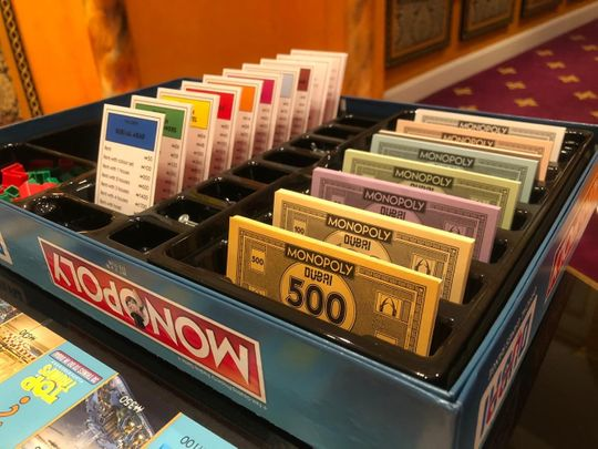 In pictures: Dubai's own new Monopoly board