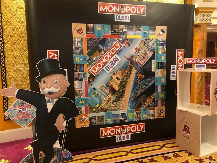Dubai's own monopoly board
