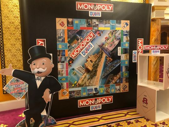 Dubai's own monopoly board