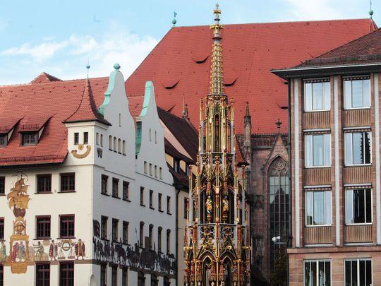 Nuremberg, Germany skyline