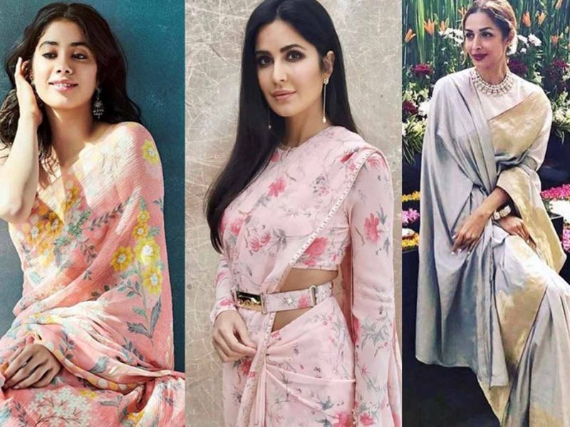 Pastel coloured saris