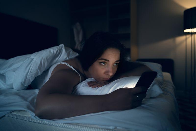 Smartphone bedroom