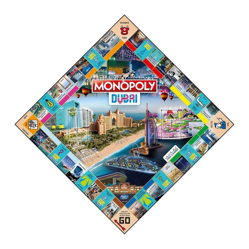 The Dubai Monopoly board game