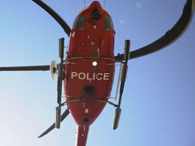 Ajman Police air wing