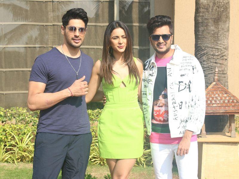 Riteish Deshmukh, Rakul Preet Singh and Sidharth Malhotra