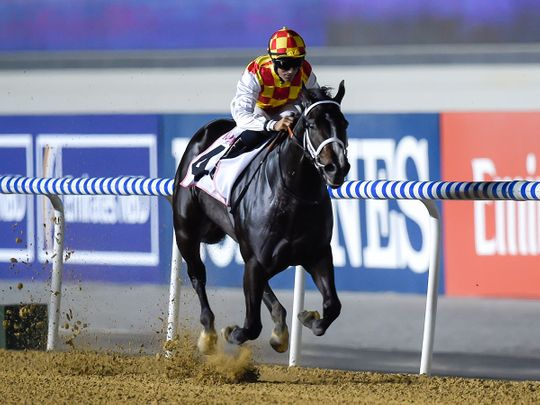 Rio Angie dazzles under Meydan's lights
