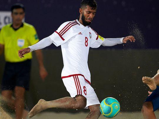 Al Jasmi the hero for UAE at Intercontinental Beach Soccer Cup