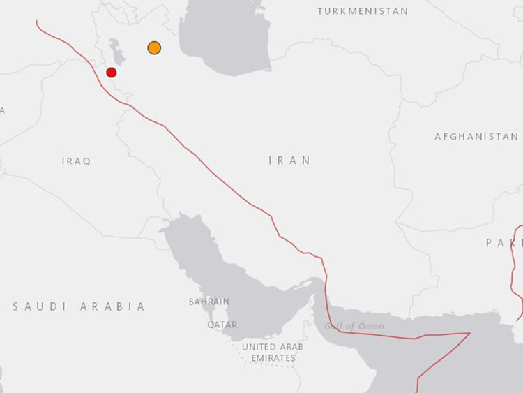 191108 Iran quake