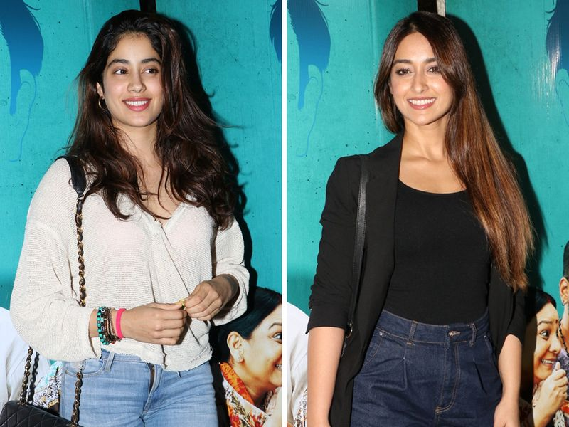 Janhvi Kapoor and Illeana D'Cruz