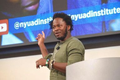 NAT 191108 Former Child soldier ishmael beah-1573210174097
