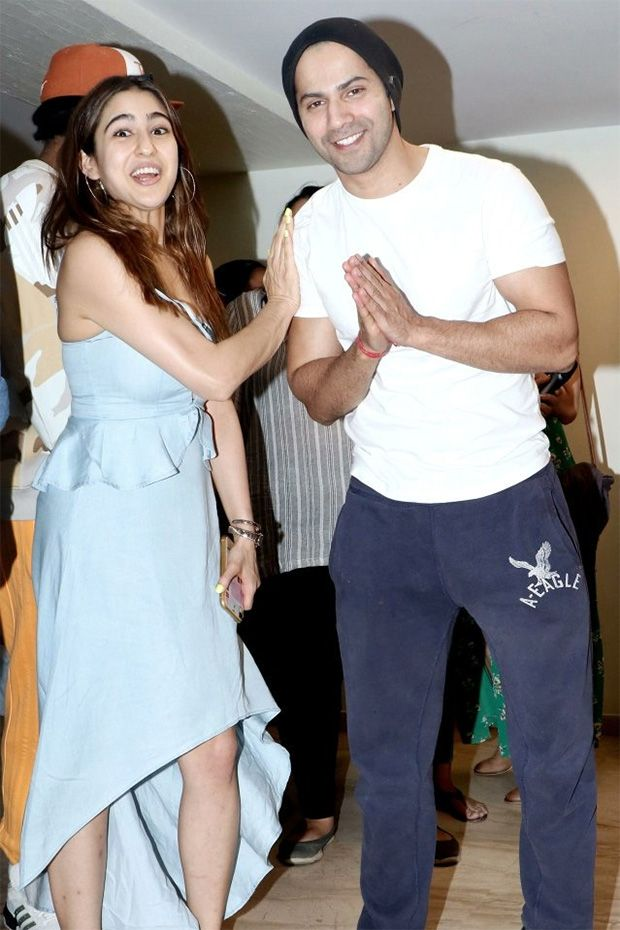 Sara Al Khan and Varun Dhawan