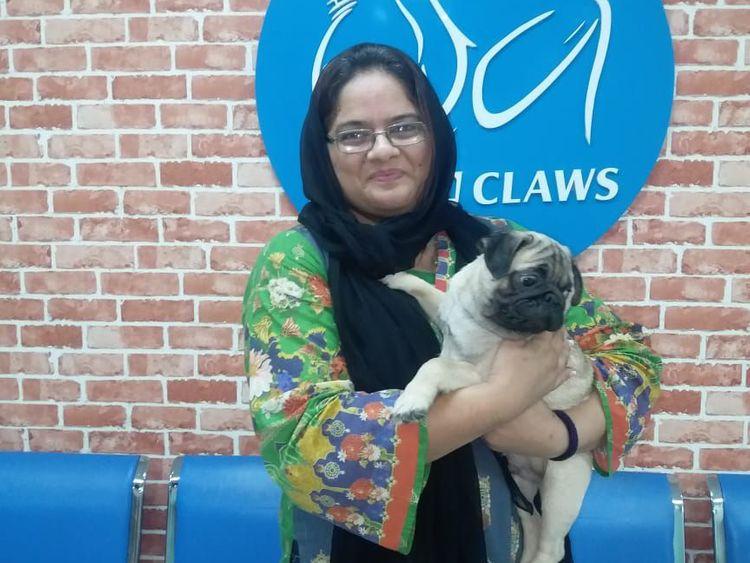 WPK 191108 Saiqa with her animal-1573213444186