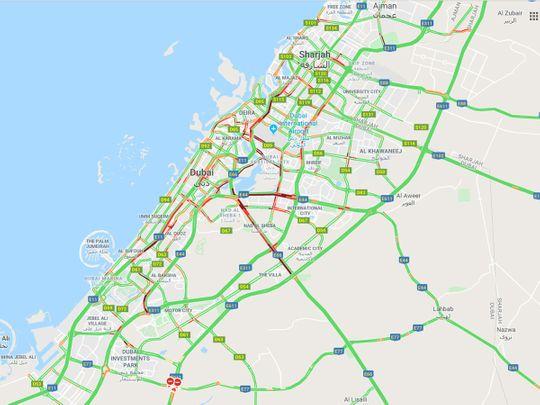 Dubai Traffic 191110