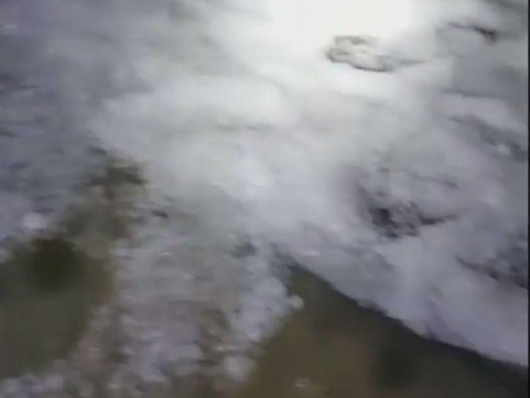 Hail in Al Tuwaiyin