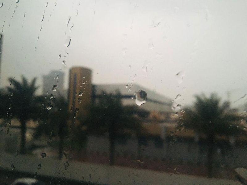 Heavy rain pounds