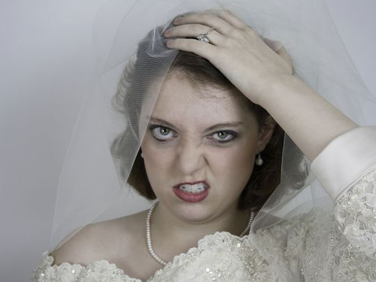 crazy angry bride generic