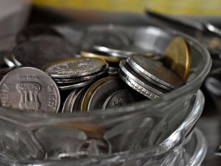 rupee coins generic