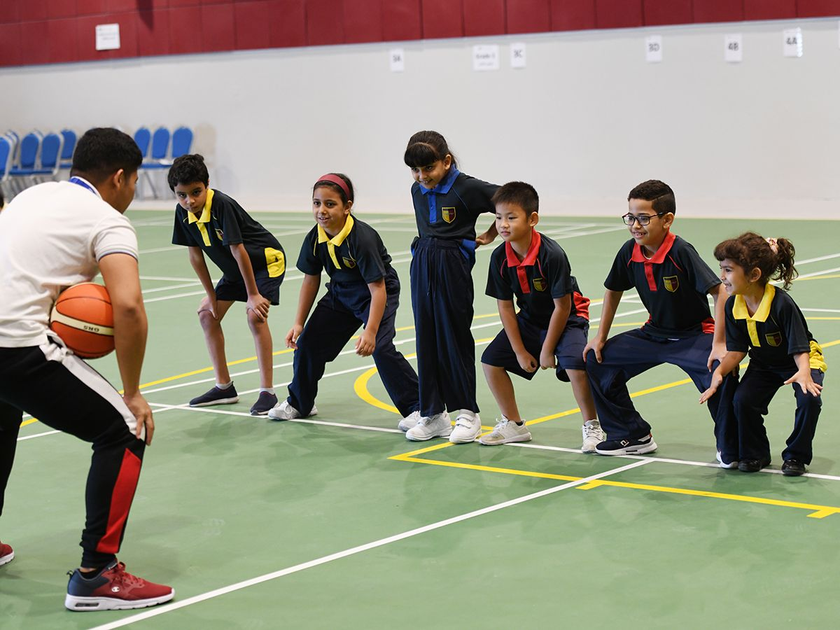 GEMS Cambridge International Private School Basketball