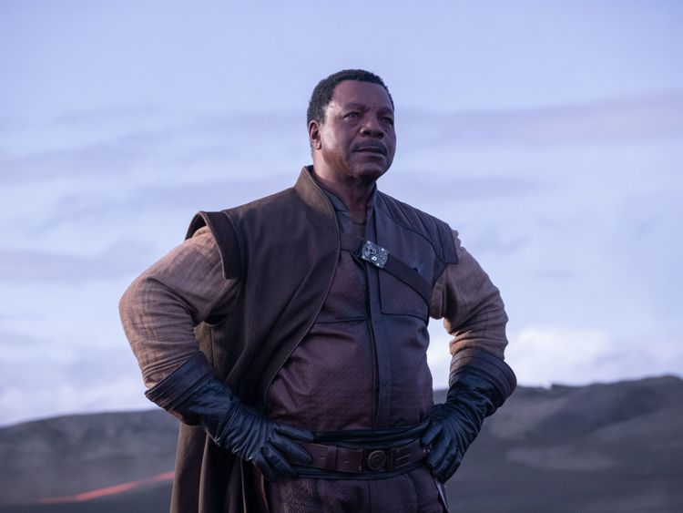 Greef (Carl Weathers) in Lucasfilm's THE MANDALORIAN.-1573539454406