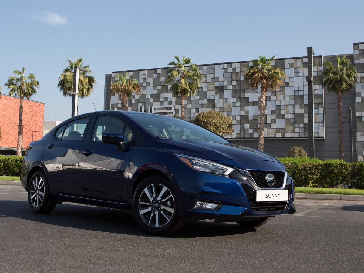 New Nissan Sunny for web