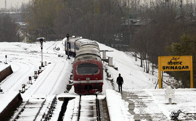 Snow in Kashmir Nov 2019