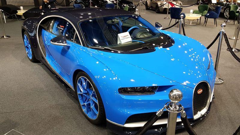 The Bugatti Chiron.