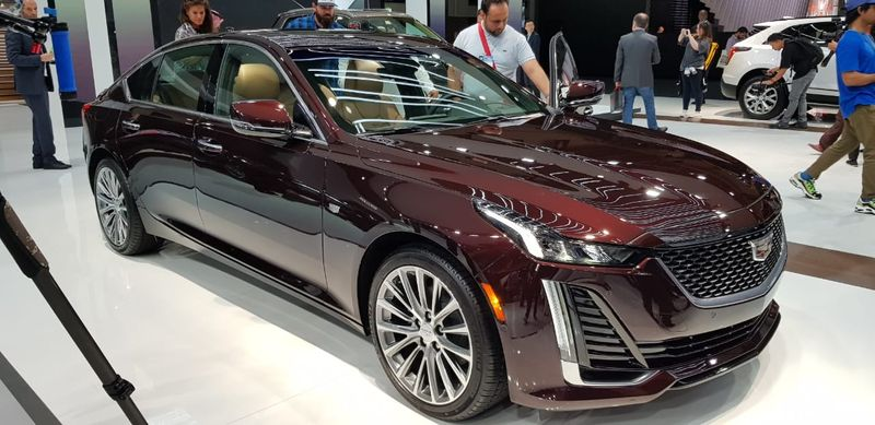 The all-new Cadillac CT5