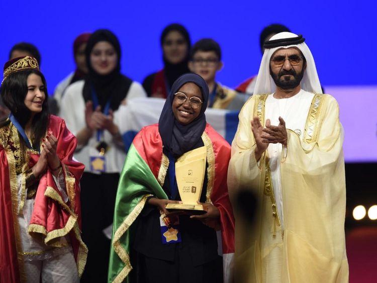 Arab Reading Challenge Winner