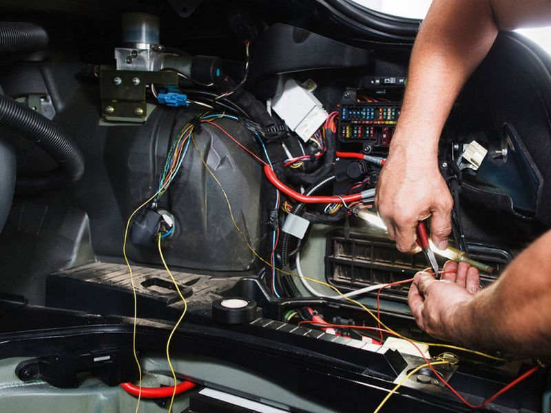Electrical faults and improper wiring are a major cause leading to car fires