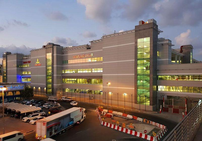 Emirates Flight Catering facility in Dubai.