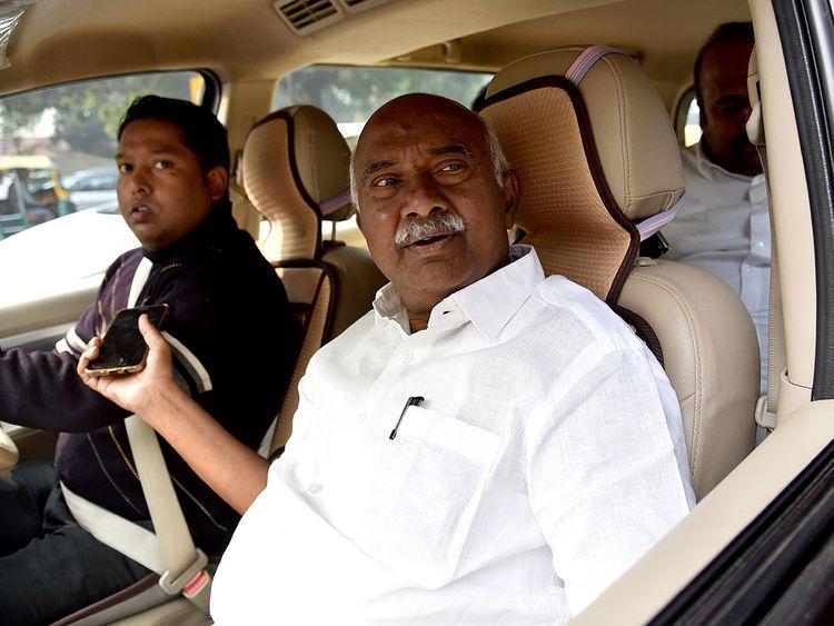 Lok Sabha MP Adagur H. Vishwanath