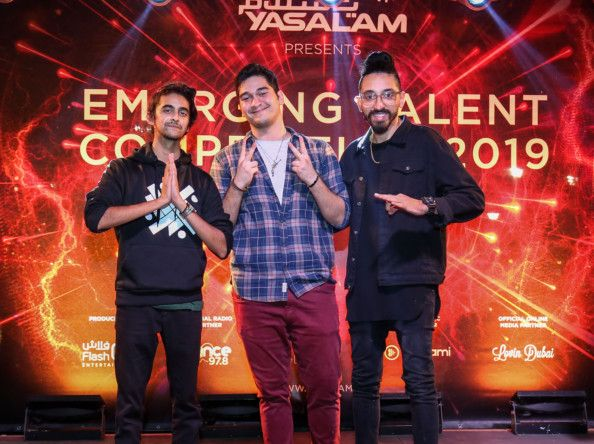 Yasalam #ETC2019's top three finalists ready to take on the du Arena Vilage stage on November 28-1573644960795