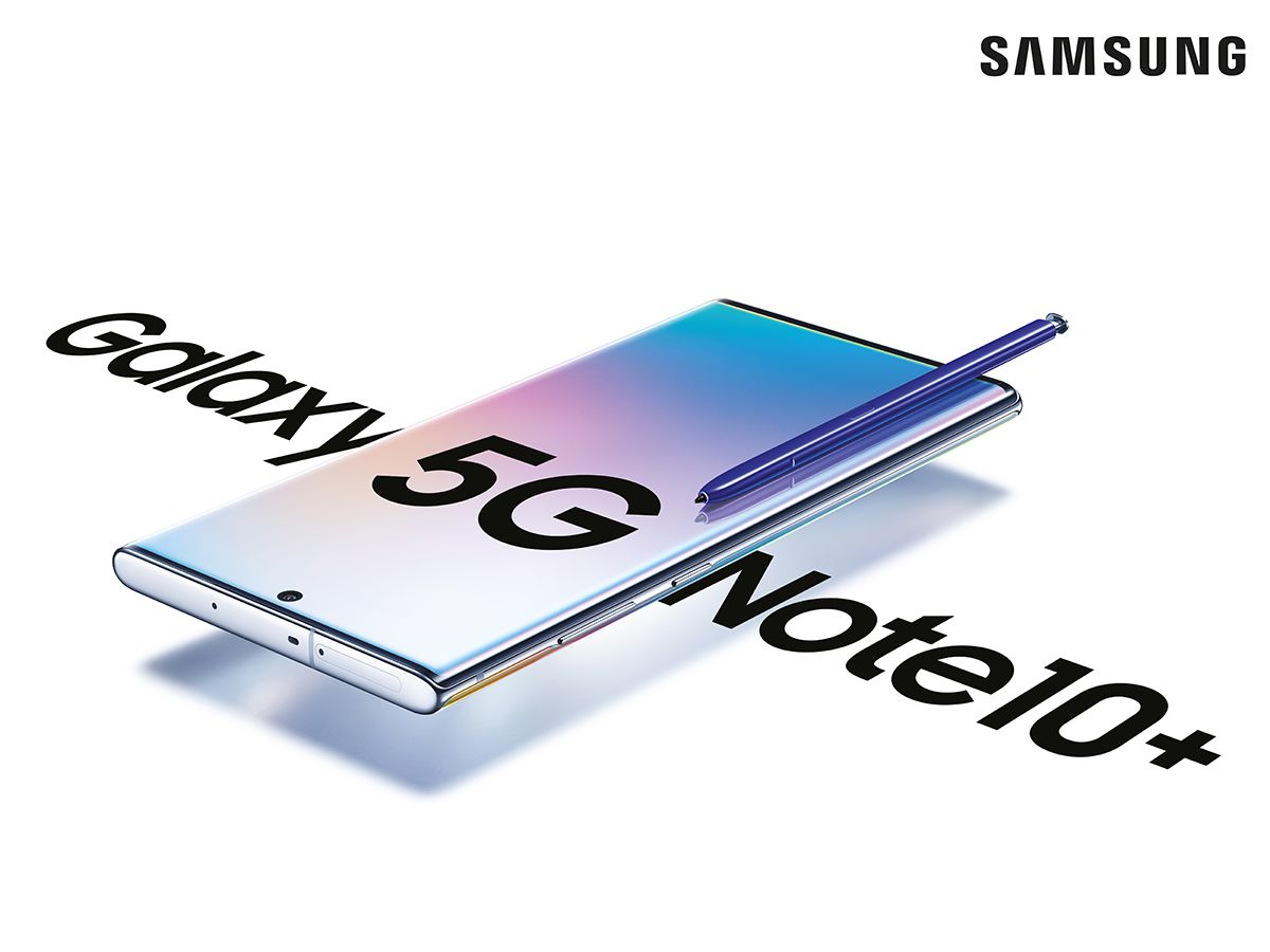 The Samsung Galaxy Note10+ 5G