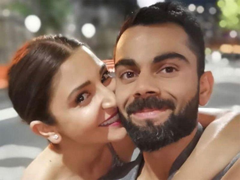 Virat Kohli and Anuskha Sharma